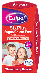Calpol Pain and Fever Relief for 6+ years